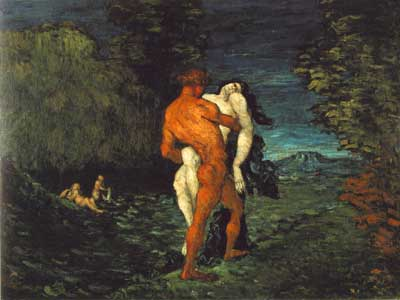 Abduction - Paul Cezanne