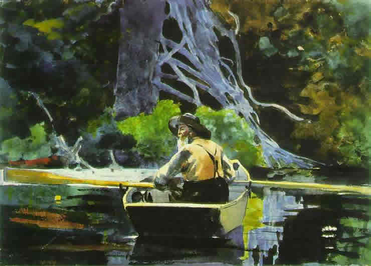 Adirondack Guide - Winslow Homer