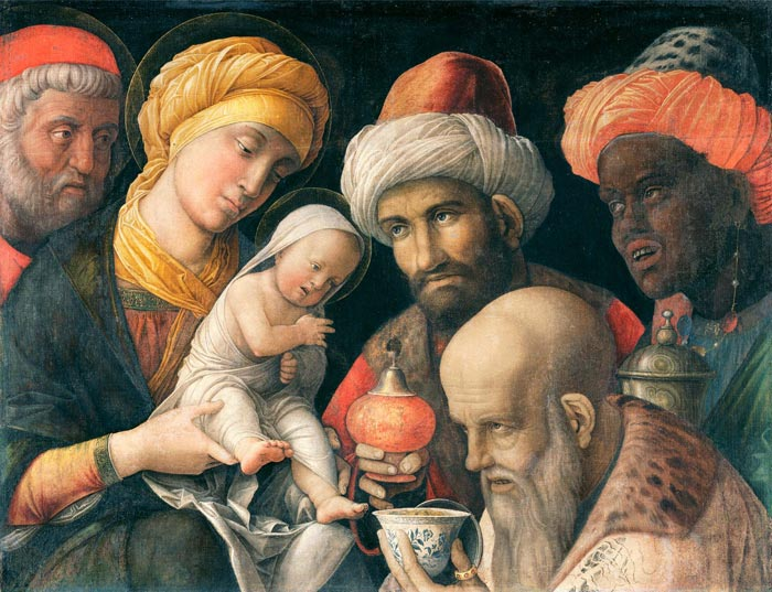 Adoration of the Magi - Andrea Mantegna
