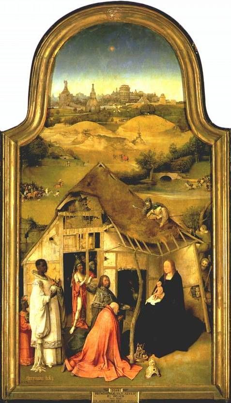 Adoration of the Magi - Hieronymus Bosch