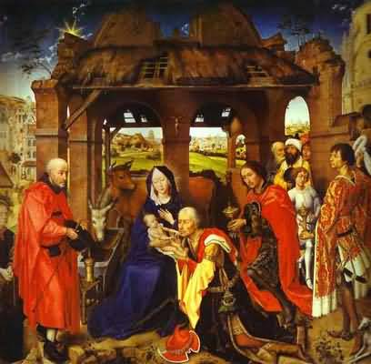 Adoration of the Magi - Rogier van der Weyden