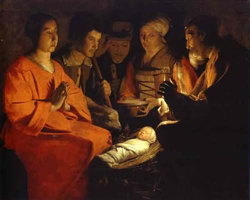 Adoration of the Shepherds - Georges de La Tour