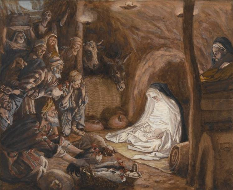 Adoration of the Shepherds - James Tissot