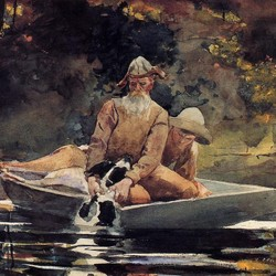 After the Hunt - Winslow Homer