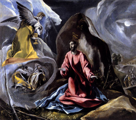 Agony in the Garden - El Greco