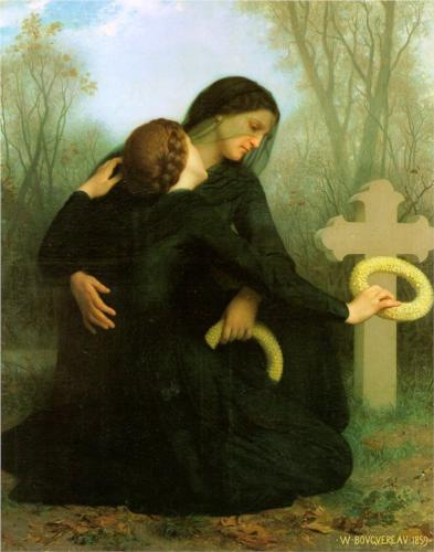All Saints Day - William Adolphe Bouguereau