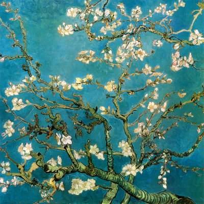 Blossoming Almond Tree - Vincent van Gogh