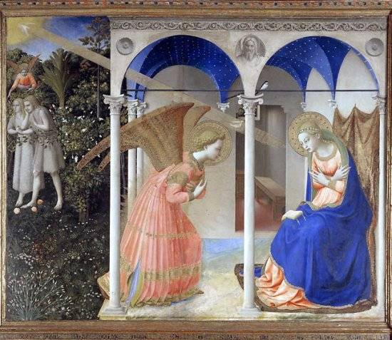 Altarpiece of the Annunciation - Fra Angelico