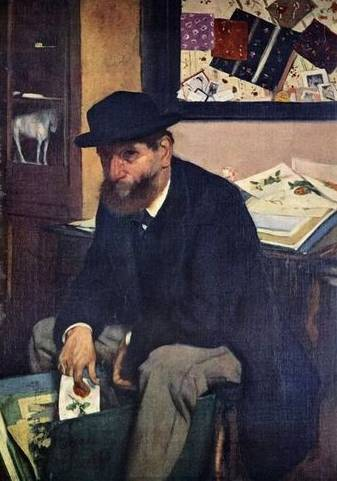 The Amateur - Edgar Degas