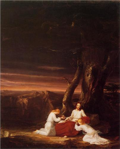 Angels Ministering to Christ - Thomas Cole