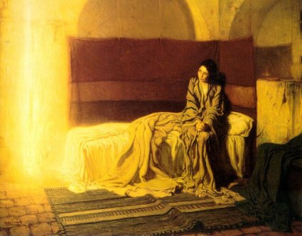 Annunciation - Henry Ossawa Tanner