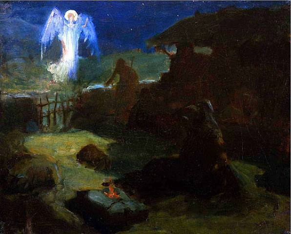 Annunciation to the Shepherds - Henry Ossawa Tanner