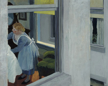 Apartment Houses - Edward Hopper