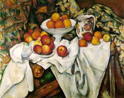 Apples & Oranges - Paul Cezanne