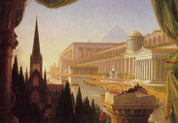 The Architect's Dream - Thomas Cole
