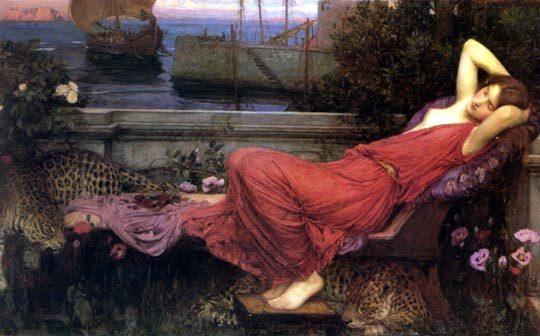 Ariadne - John William Waterhouse