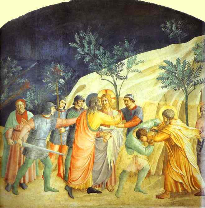 Arrest of Christ - Fra Angelico