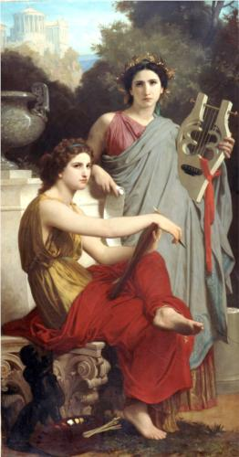 Art and Literature - William Adolphe Bouguereau