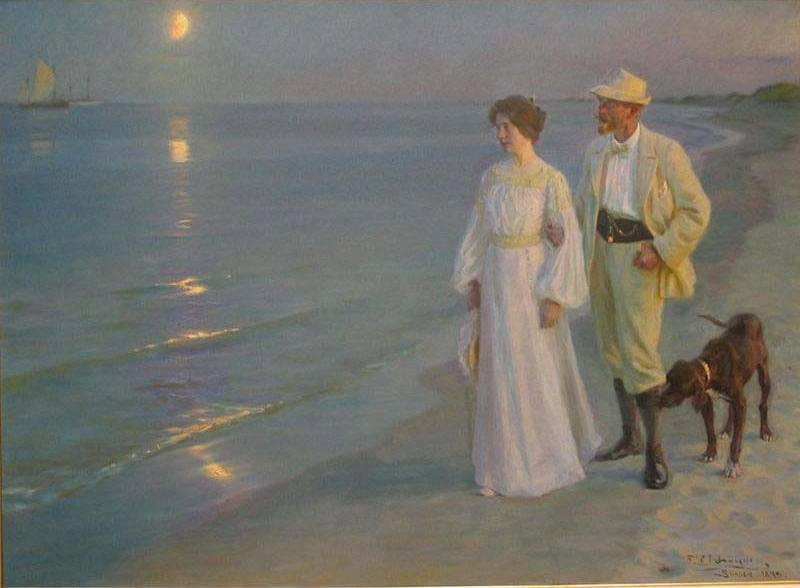 Artist And His Wife - Peter Severin Kroyer