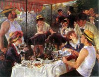 Luncheon of the Boating Party 1881 Pierre-Auguste Renoir