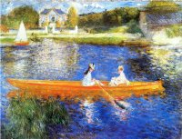 Boating on the Seine 1879-80 Pierre-Auguste Renoir