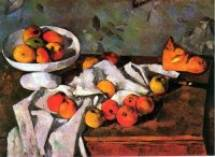 Still Life with Apples and Oranges 1895-1900 Paul Cezanne