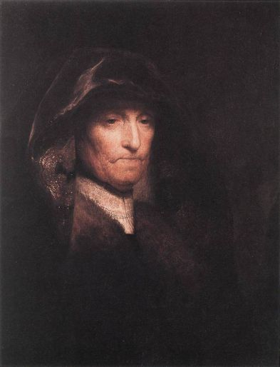 Artist's Mother - Rembrandt van Rijn