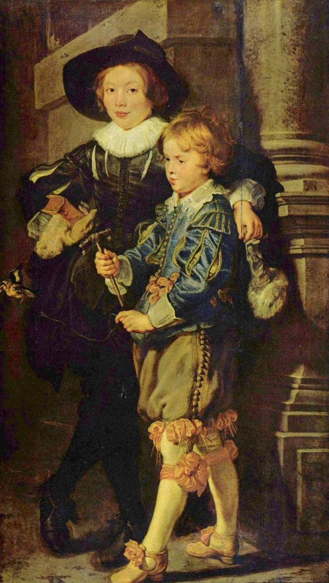 Artist's Sons Albert and Nicholas - Peter Paul Rubens