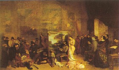 The Artists Studio - Gustave Courbet