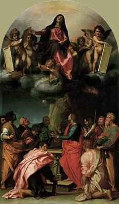 Assumption of the Virgin - Andrea Del Sarto