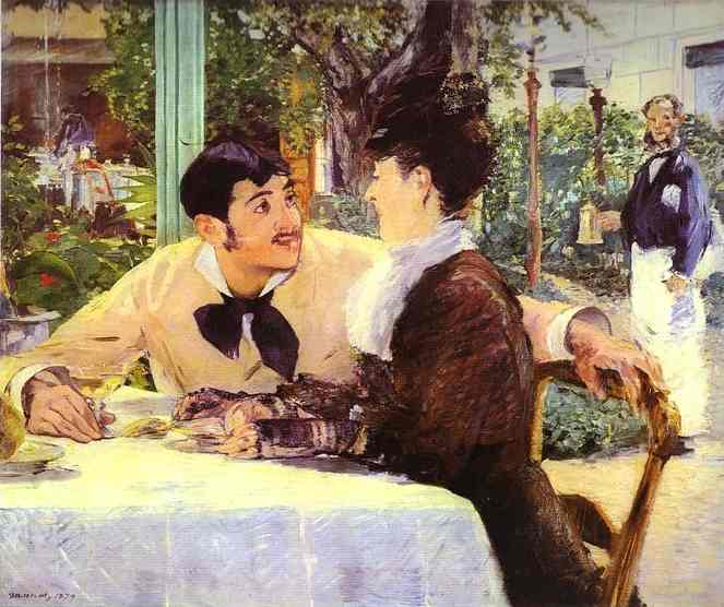 At Père Lathuille's - Edouard Manet
