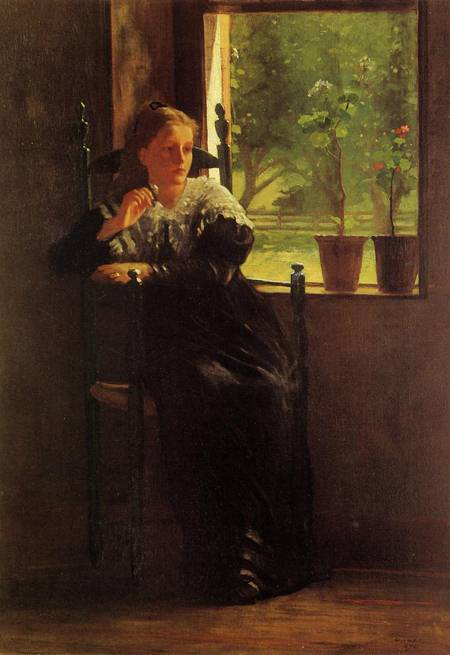 At the Window - Winslow Homer