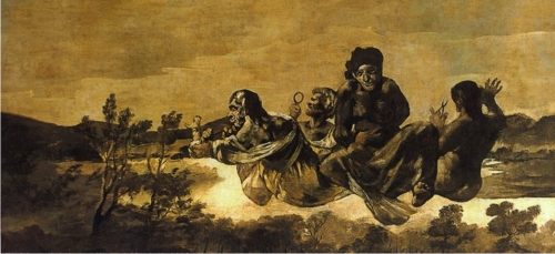 Atropos (The Fates) - Francisco Goya