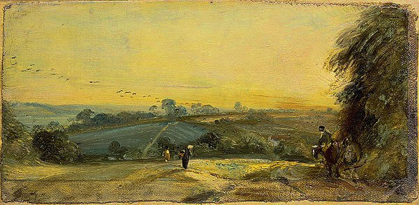 Autumn Sunset - John Constable