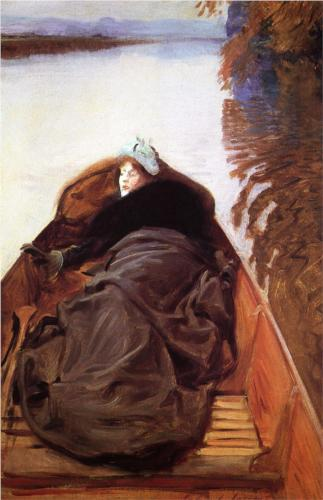 Autumn on the River - John Singer Sargent