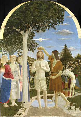 Baptism of Christ - Piero della Francesca