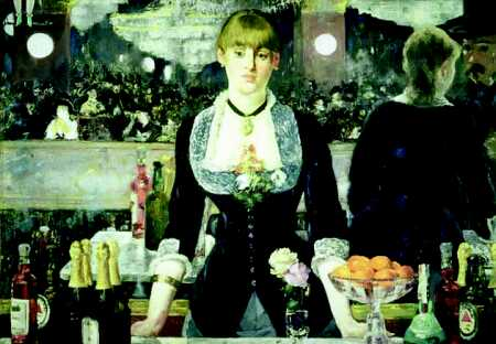 Bar at the Folies-Bergere - Edouard Manet