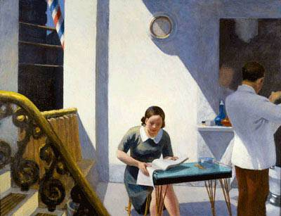 Barber Shop - Edward Hopper