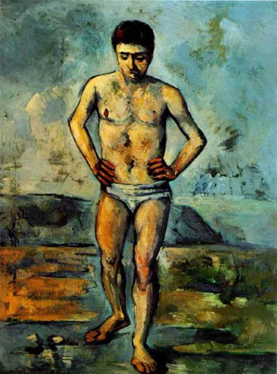 Bather - Paul Cezanne