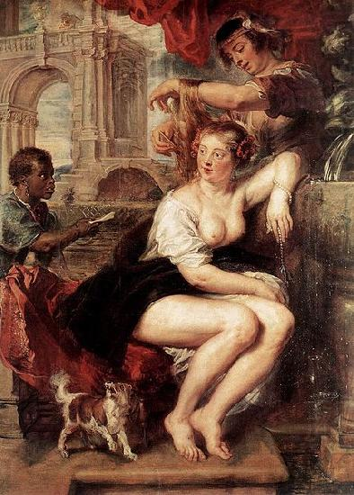 Bathsheba at the Fountain - Peter Paul Rubens