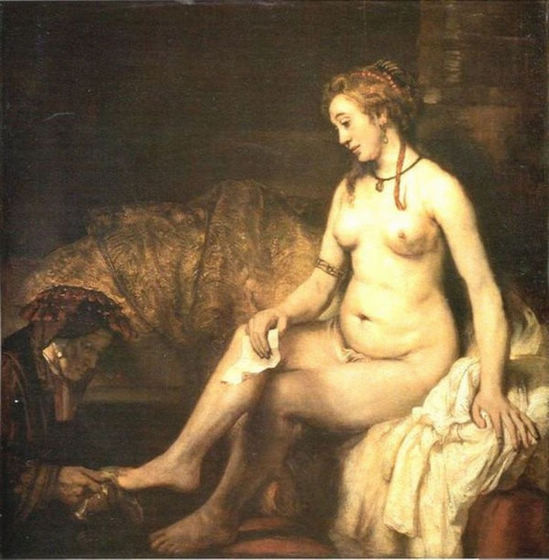 Bathsheba with King David's Letter - Rembrandt van Rijn