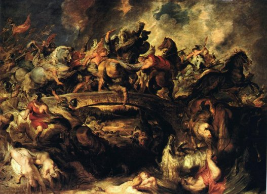 Battle of the Amazons - Peter Paul Rubens