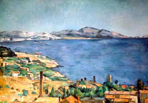 Bay of Marseilles - Paul Cezanne