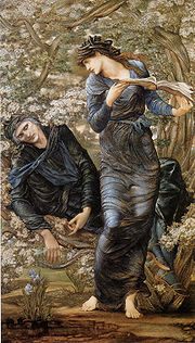 Beguiling of Merlin - Edward Coley Burne Jones