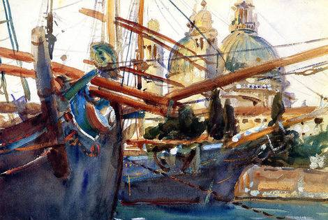Behind the Salute - John Singer Sargent