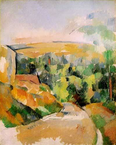 Bend in Road - Paul Cezanne