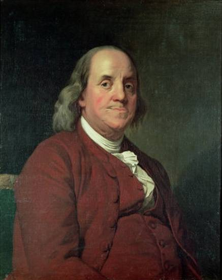 Benjamin Franklin - Joseph Wright of Derby