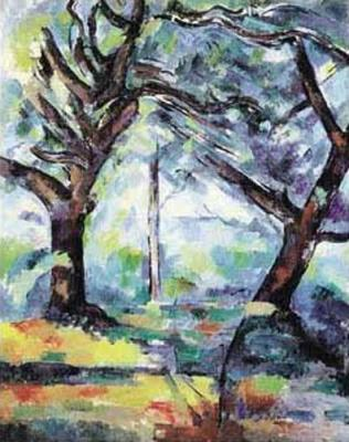 Big Trees - Paul Cezanne