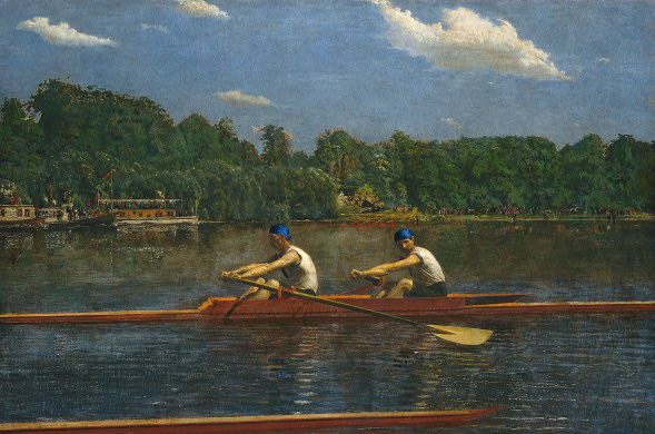 Biglin Brothers Racing - Thomas Eakins