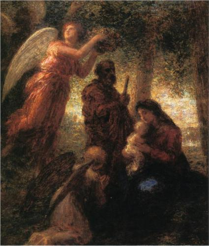 Birth of Christ - Henri Fantin-Latour